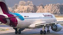 D-ABNI - Eurowings Airbus A320 aircraft
