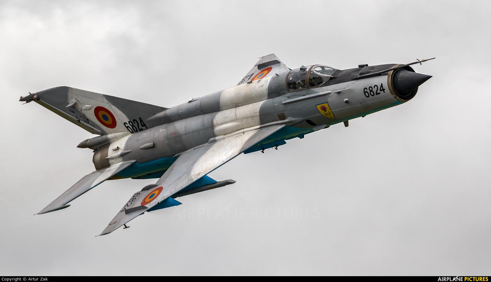 Romania - Air Force 6824 aircraft at Fairford