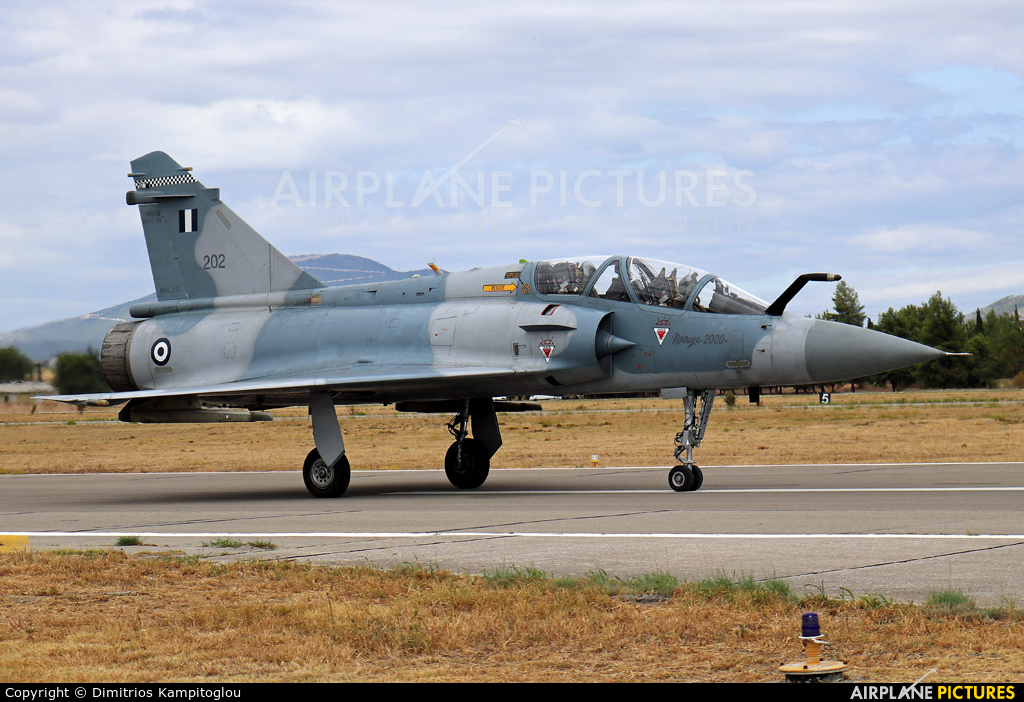 Greece - Hellenic Air Force 202 aircraft at Tanagra