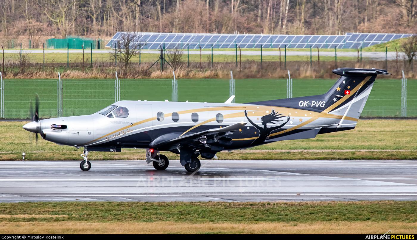 Private OK-PVG aircraft at Ostrava Mošnov
