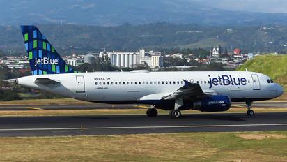 N527JB - JetBlue Airways Airbus A320