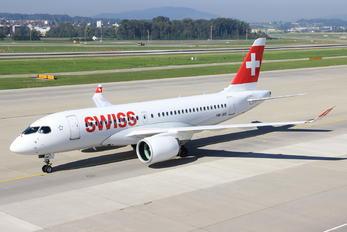 HB-JBE - Swiss Bombardier BD-500 C Series 100