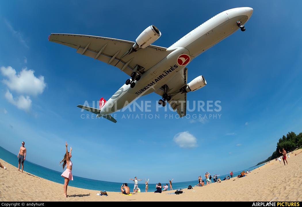 Turkish Airlines TC-LNE aircraft at Phuket