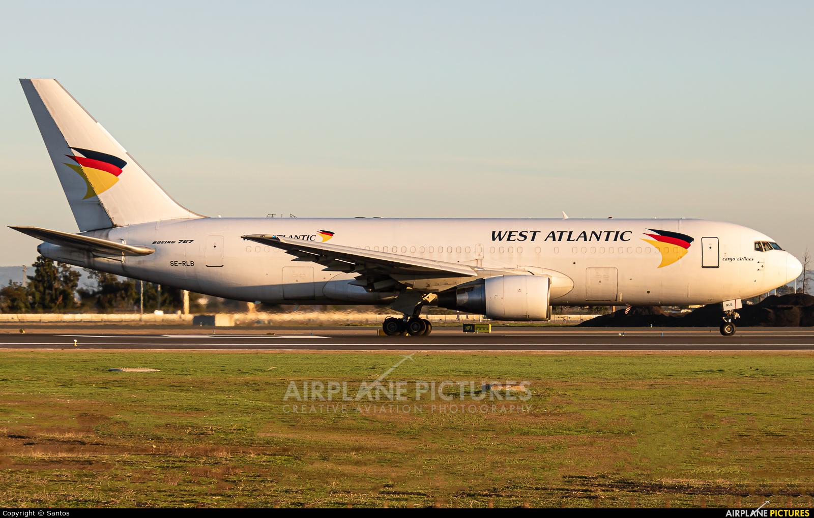 West Atlantic SE-RLB aircraft at Seville - San Pablo