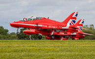 "XX323 - Royal Air Force ""Red Arrows"" British Aerospace Hawk T.1/ 1A aircraft"