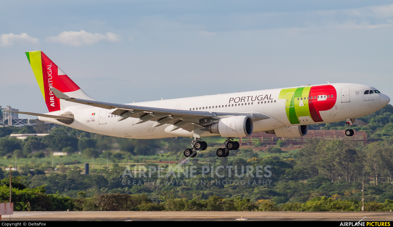 TAP Portugal CS-TOR aircraft at Brasília - Presidente Juscelino Kubitschek Intl
