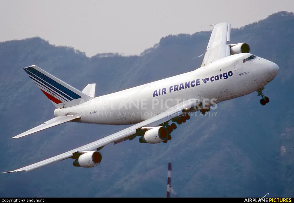 Air France Cargo F-BPVV aircraft at HKG - Kai Tak Intl CLOSED