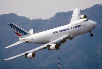 F-BPVV - Air France Cargo Boeing 747-200F