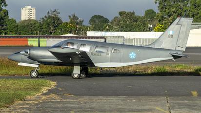 611 - Guatemala - Air Force Piper PA-34 Seneca