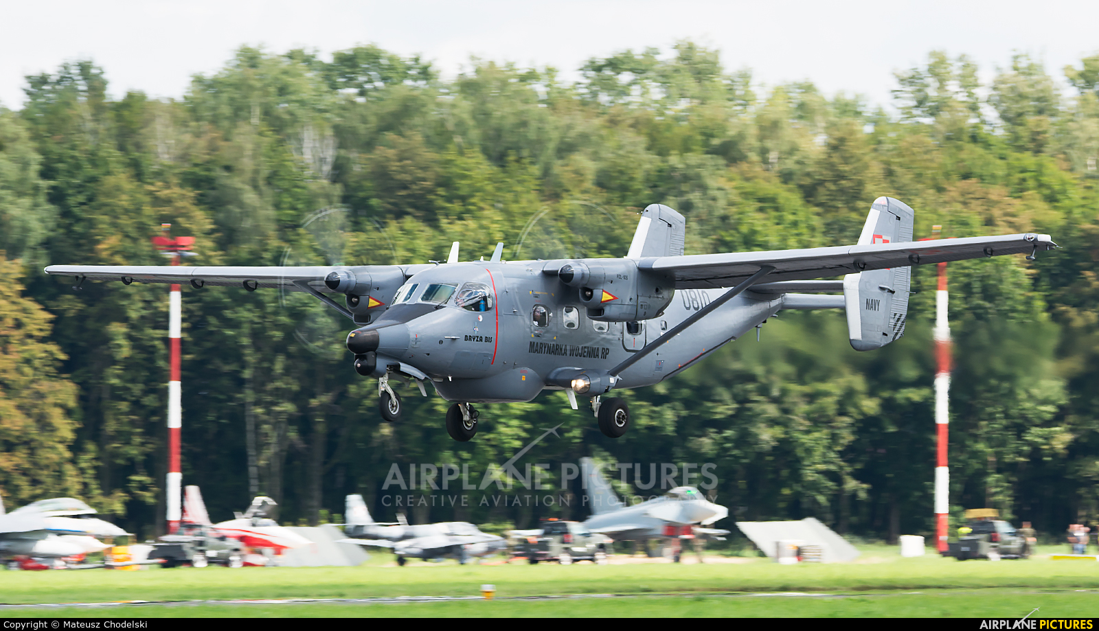 Poland - Navy 0810 aircraft at Radom - Sadków