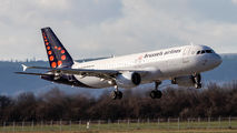 OO-SNG - Brussels Airlines Airbus A320 aircraft