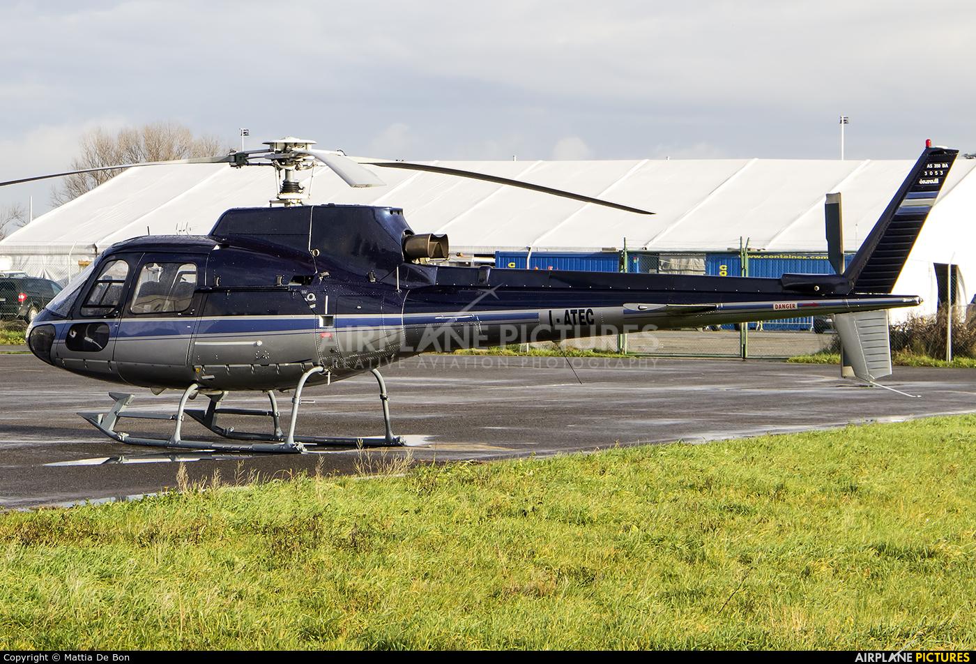 Private I-ATEC aircraft at Reggio Emilia