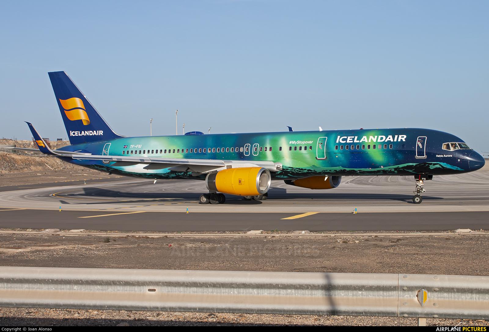 Icelandair TF-FIU aircraft at Tenerife Sur - Reina Sofia
