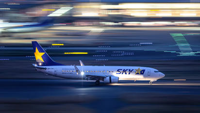 JA73ND - Skymark Airlines Boeing 737-800