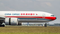 B-2077 - China Cargo Boeing 777F aircraft
