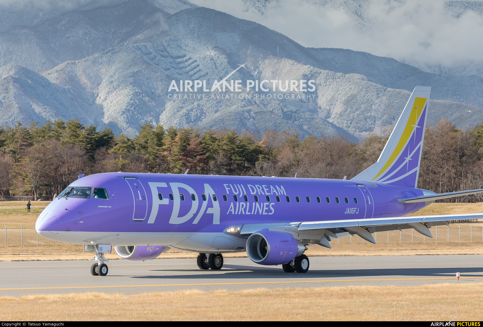 Fuji Dream Airlines JA16FJ aircraft at Shinshu - Matsumoto
