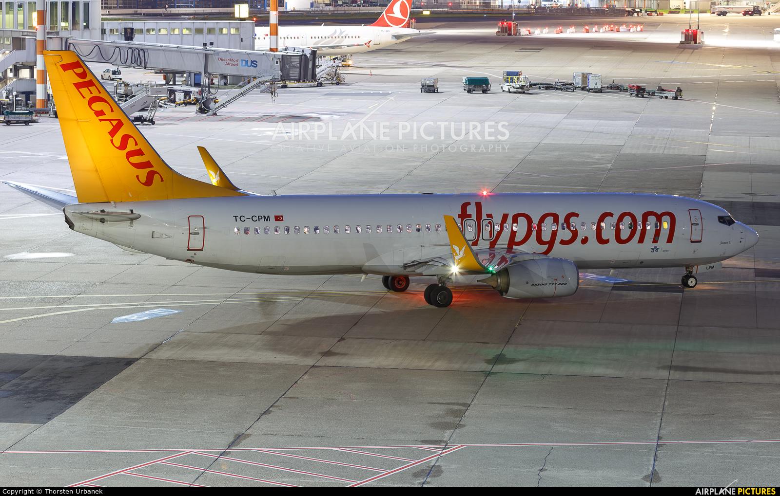 Pegasus TC-CPM aircraft at Düsseldorf