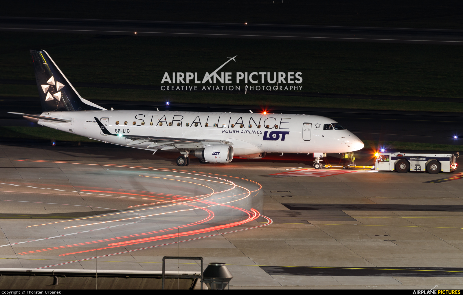 LOT - Polish Airlines SP-LIO aircraft at Düsseldorf