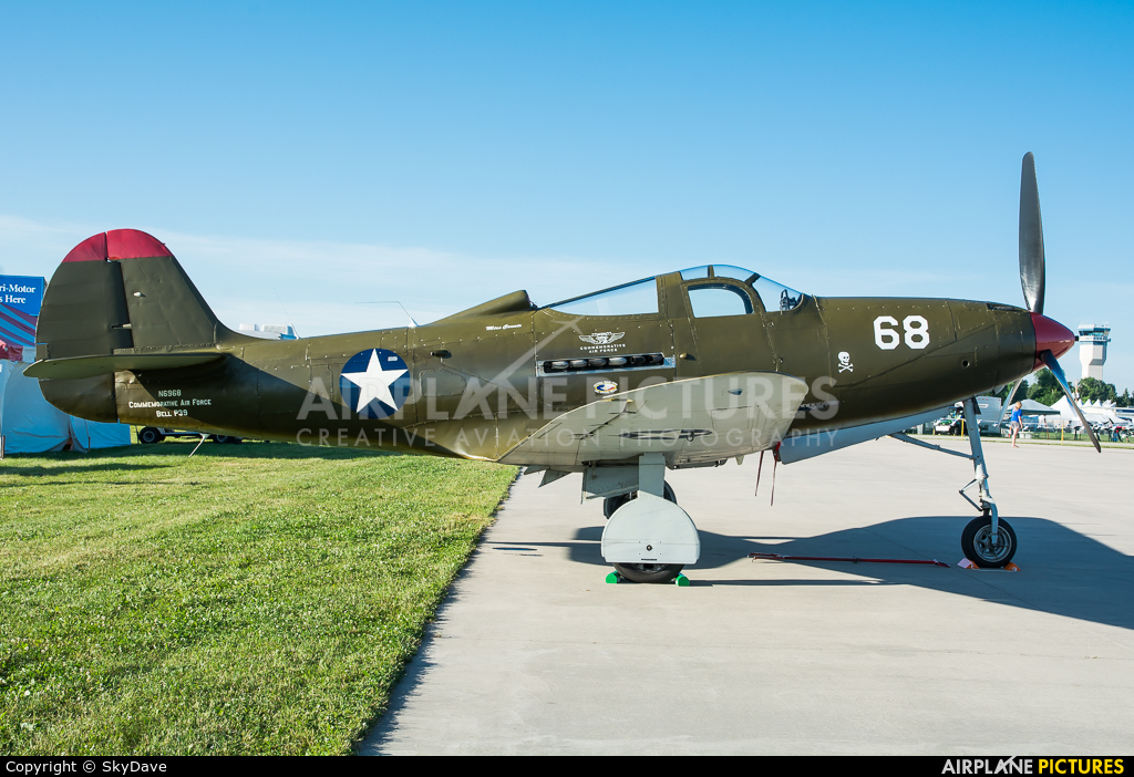 American Airpower Heritage Museum (CAF) N6968 aircraft at Oshkosh - Wittman Regional