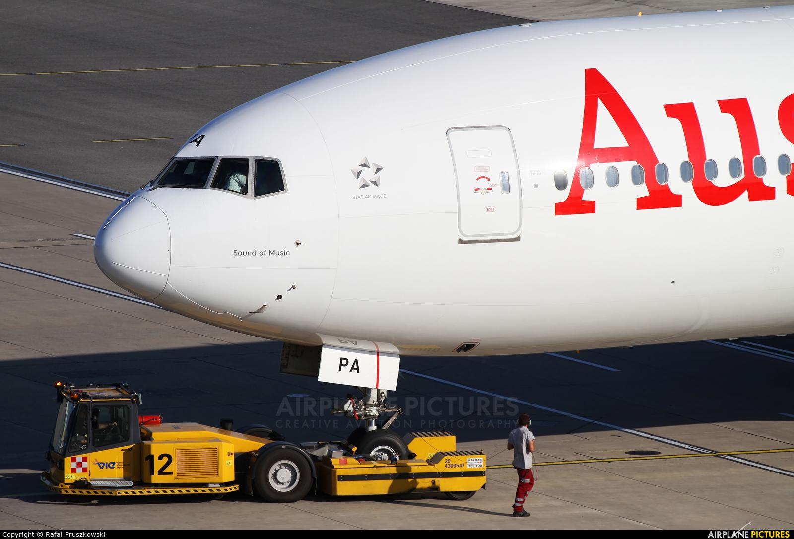 Austrian Airlines/Arrows/Tyrolean OE-LPA aircraft at Vienna - Schwechat