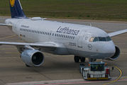 D-AIBG - Lufthansa Airbus A319 aircraft