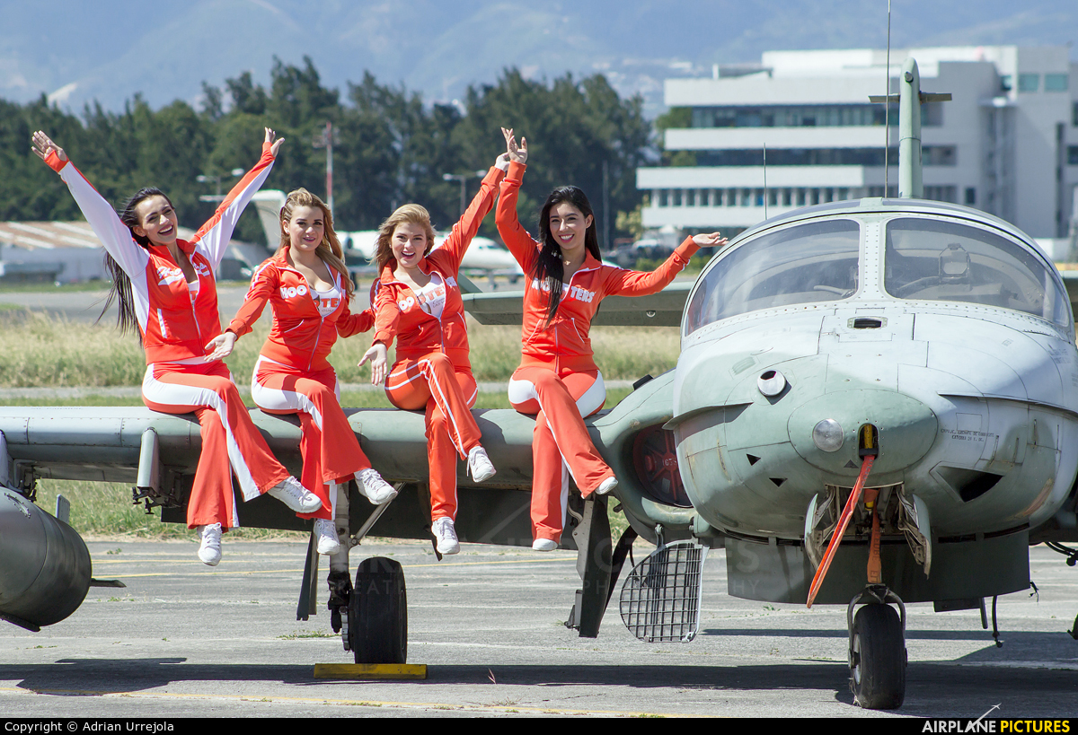 - Aviation Glamour TG-FAB aircraft at Guatemala - La Aurora
