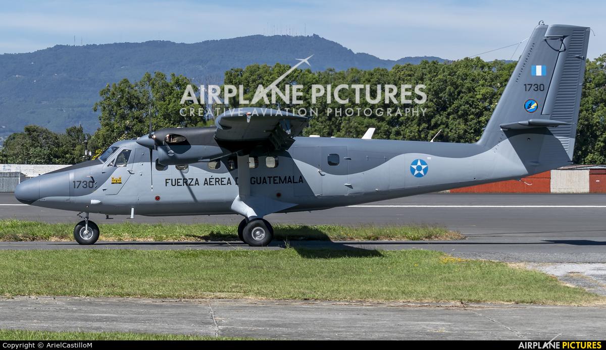 Guatemala - Air Force 1730 aircraft at Guatemala - La Aurora