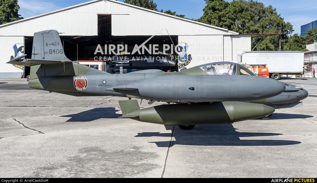 Guatemala - Air Force A-424 aircraft at Guatemala - La Aurora