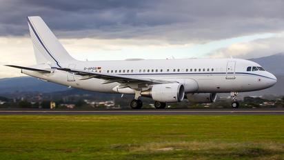 D-APGS - K5 Aviation Airbus A319 CJ