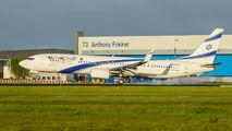 4X-EHH - El Al Israel Airlines Boeing 737-900 aircraft