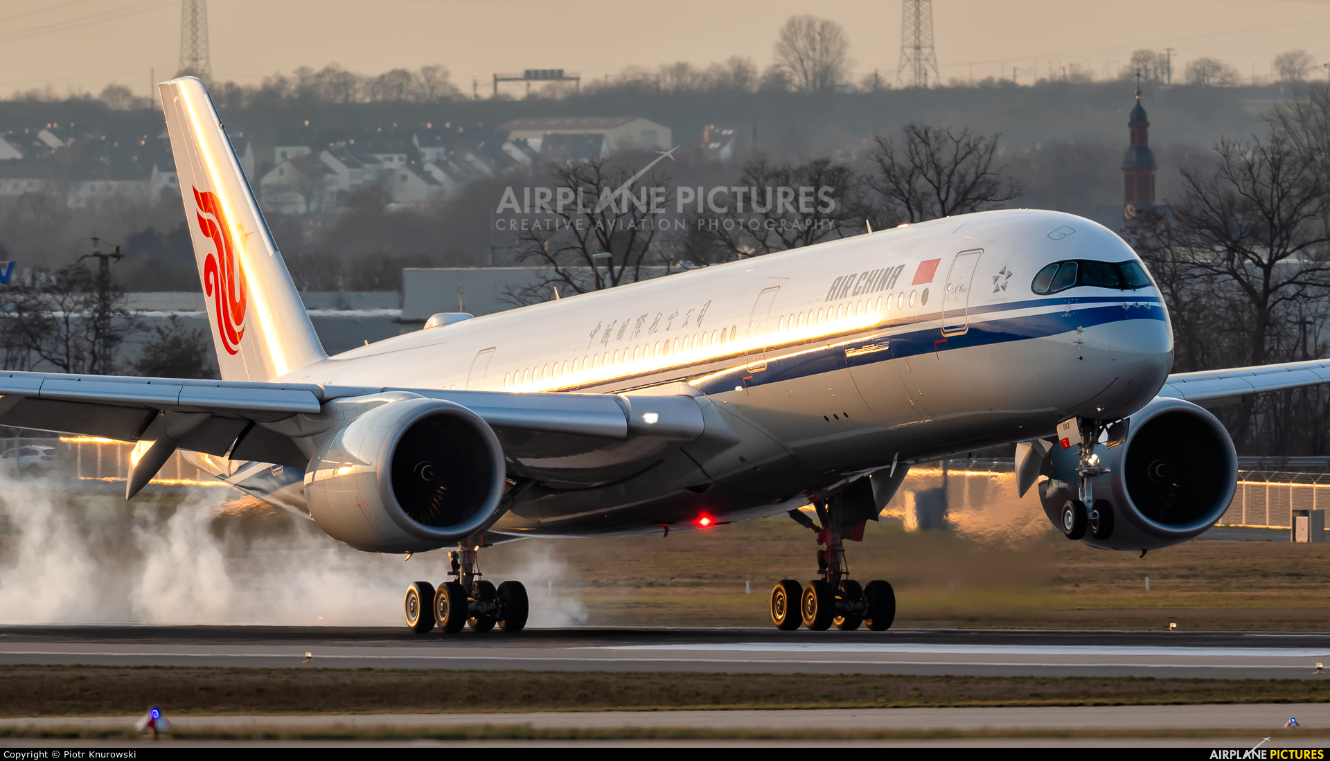 Air China B-1082 aircraft at Frankfurt