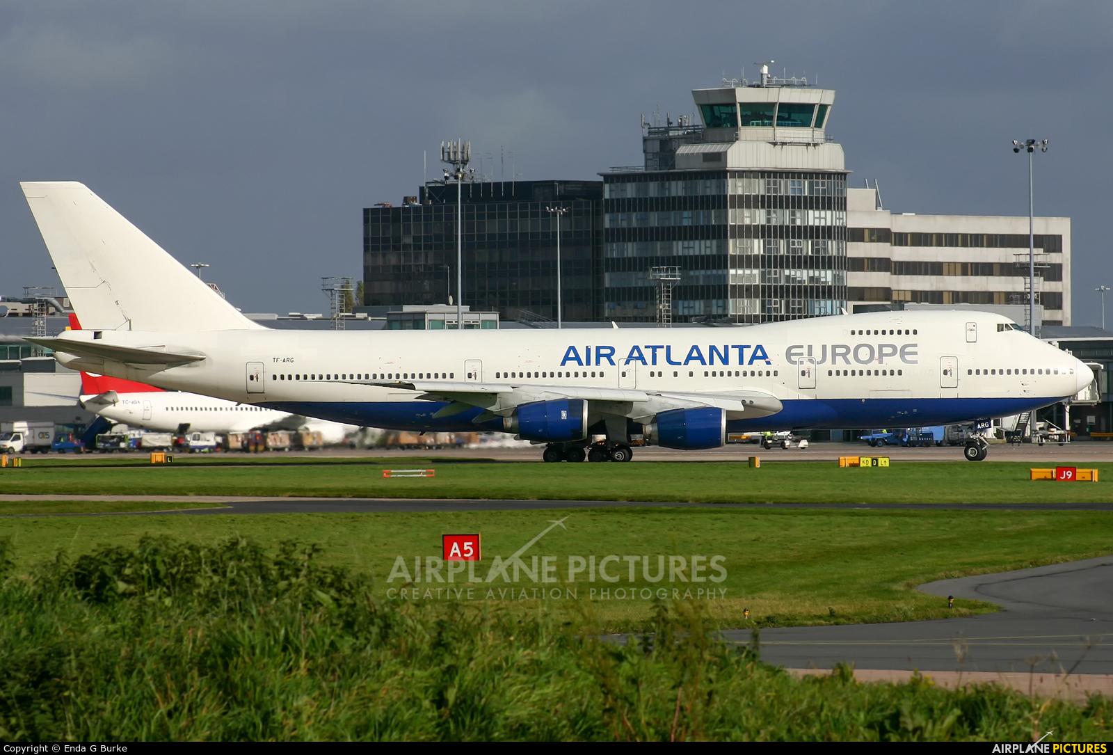 Air Atlanta Europe TF-ARG aircraft at Manchester