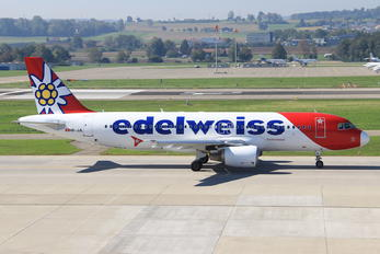 HB-JJL - Edelweiss Airbus A320