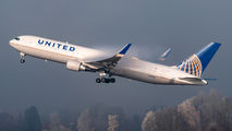 N655UA - United Airlines Boeing 767-300ER aircraft
