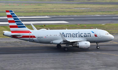 N4005X - American Airlines Airbus A319