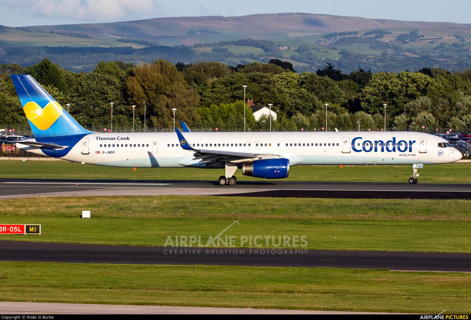 Condor G-JMOG aircraft at Manchester