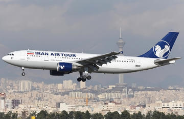 EP-MDN - Iran Air Tours Airbus A300