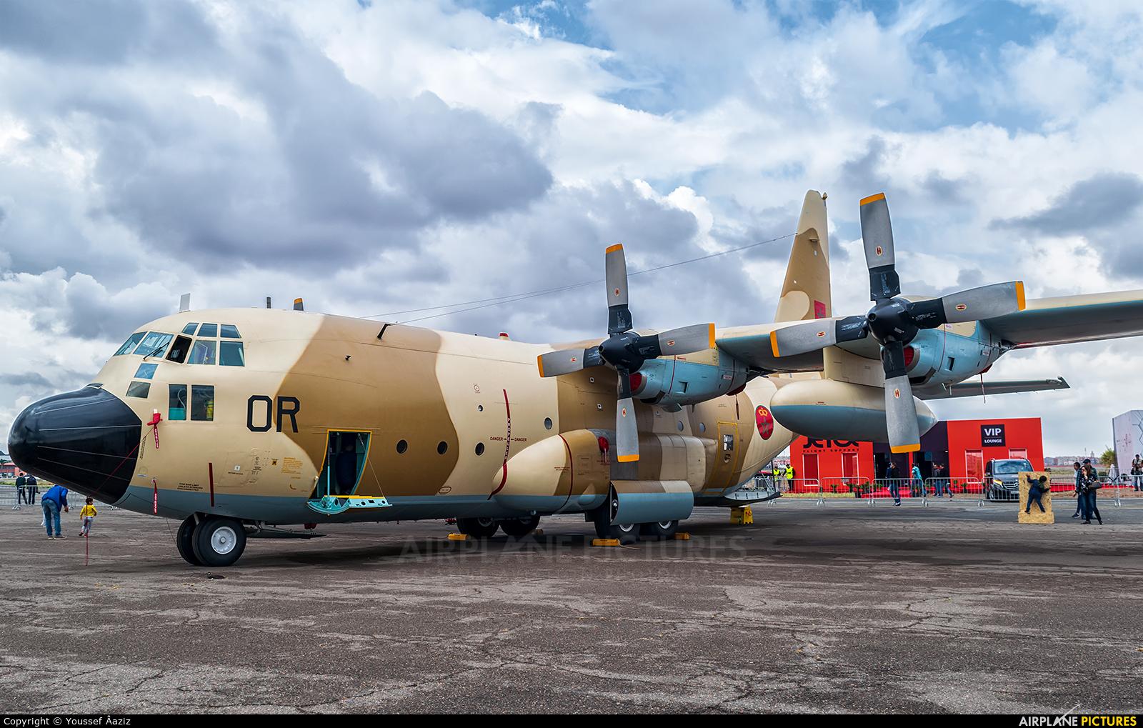 Morocco - Air Force CN-AOR aircraft at Marrakech - Menara
