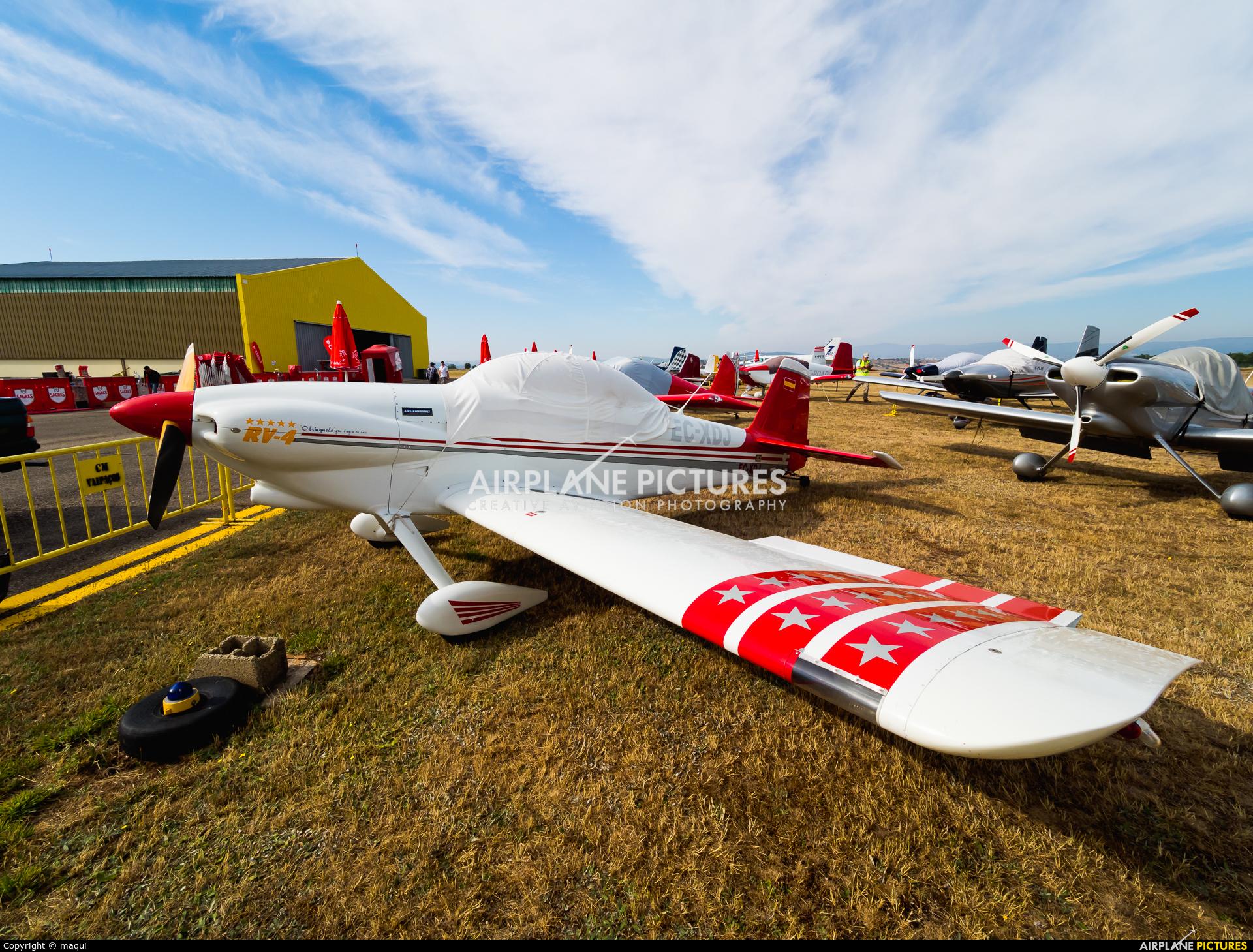 Private EC-XDJ aircraft at Bragança