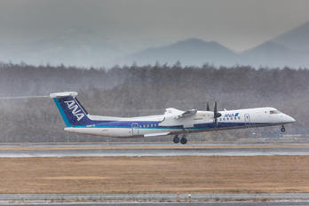 JA857A - ANA Wings de Havilland Canada DHC-8-400Q / Bombardier Q400