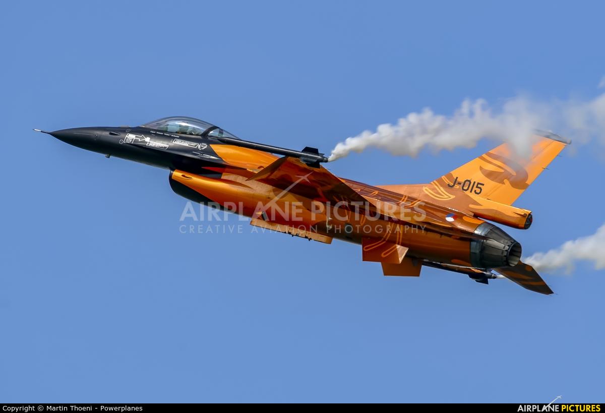 Netherlands - Air Force J-015 aircraft at Kecskemét