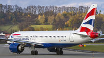 G-TTNE - British Airways Airbus A320 NEO aircraft
