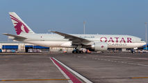 A7-BFK - Qatar Airways Cargo Boeing 777F aircraft