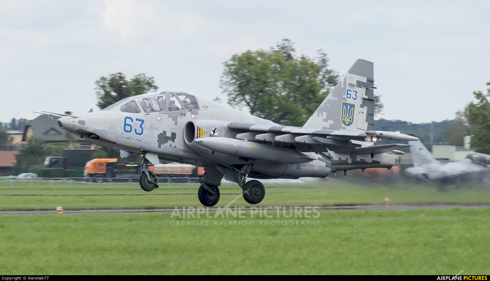 Ukraine - Air Force 63 aircraft at Radom - Sadków