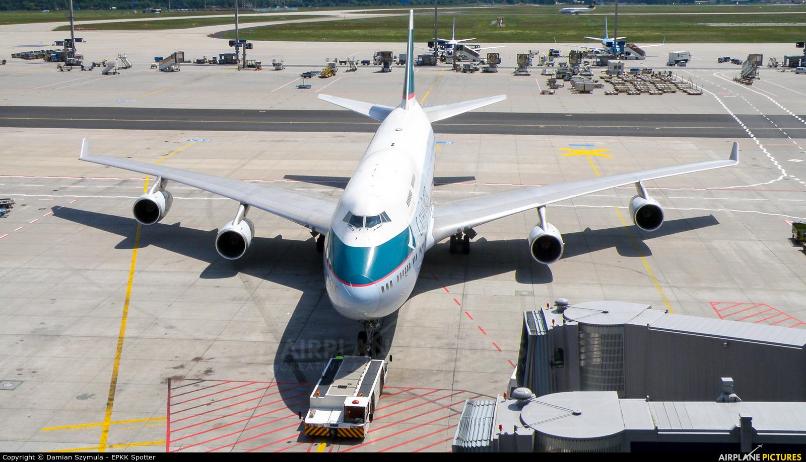 Cathay Pacific B-HOR aircraft at Frankfurt