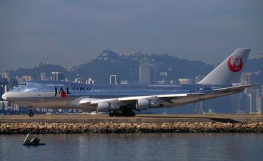 JA8180 - JAL - Japan Airlines Boeing 747-200F