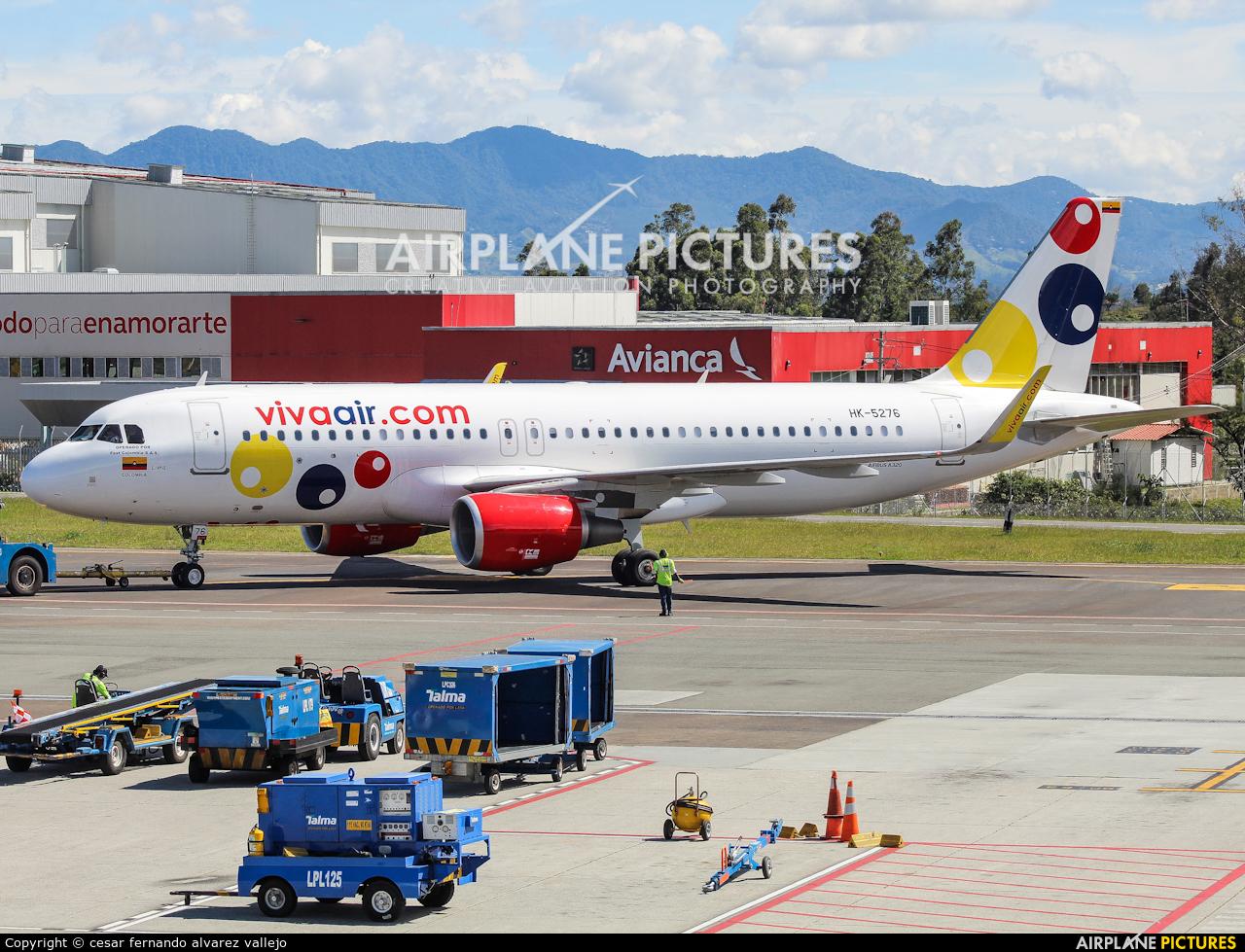 Viva Air HK-5276 aircraft at Medellin - Jose Maria Cordova Intl