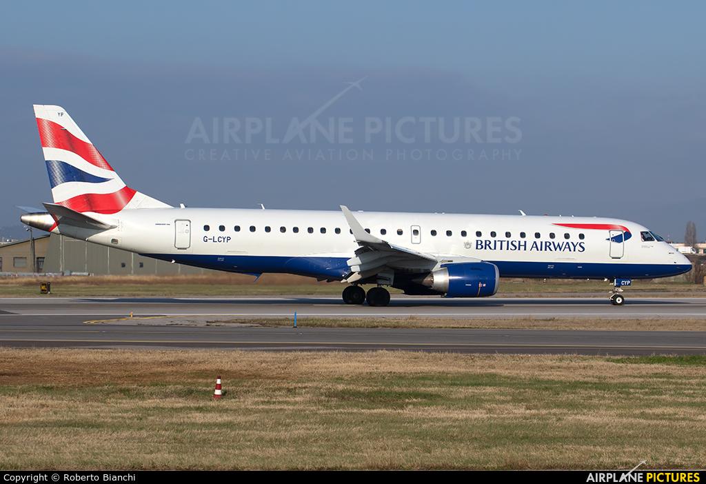 British Airways - City Flyer G-LCYP aircraft at Verona - Villafranca