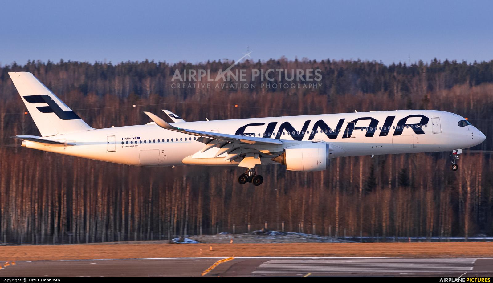 Finnair OH-LWK aircraft at Helsinki - Vantaa