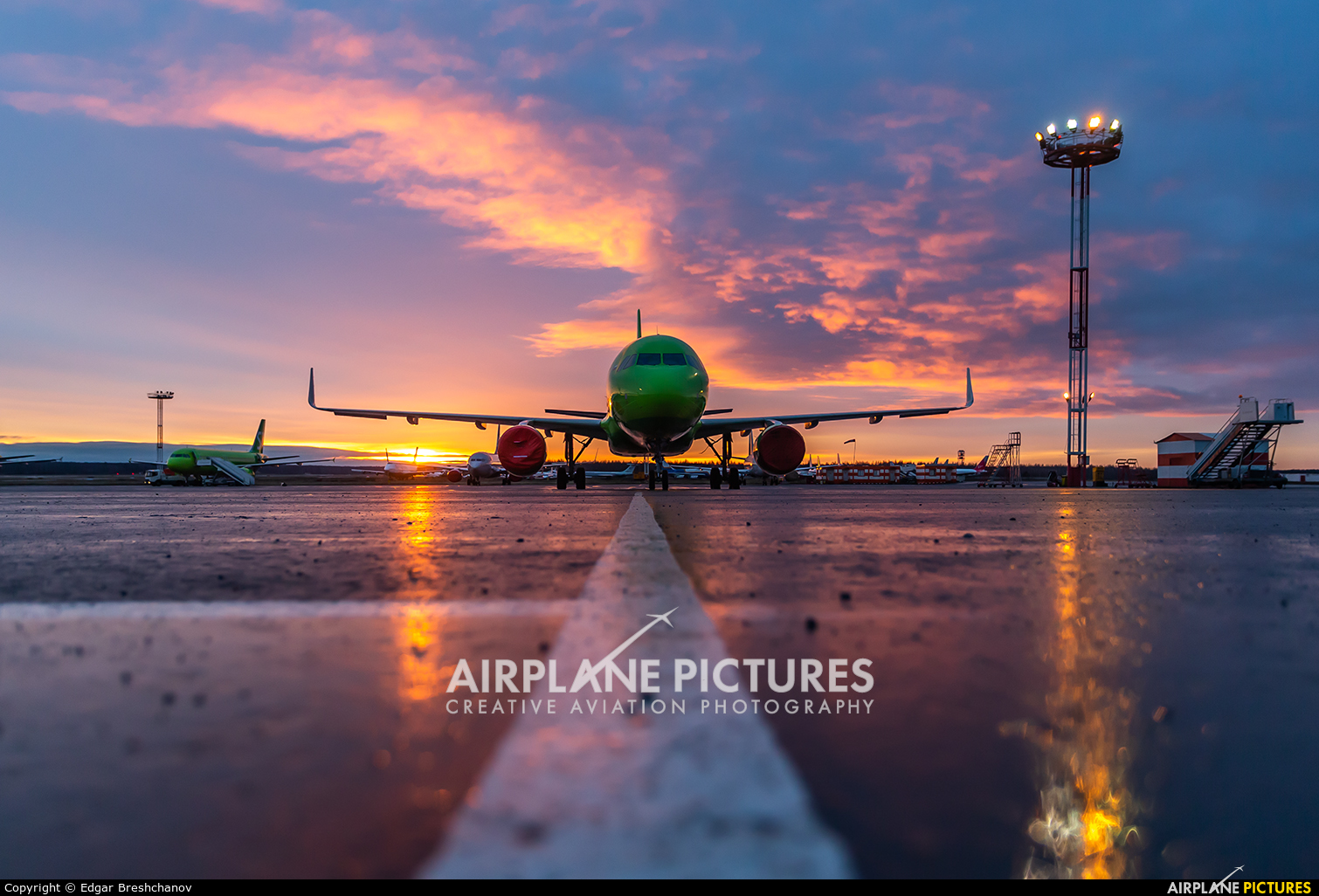 S7 Airlines VP-BOJ aircraft at Moscow - Domodedovo